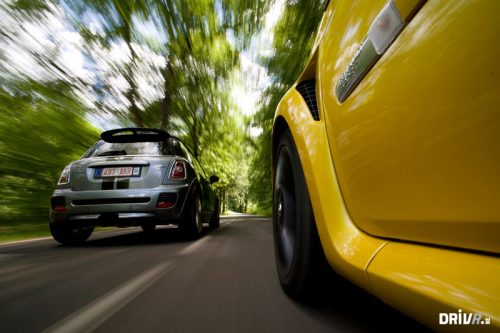 MINI John Cooper Works vs. Renault Clio RS
