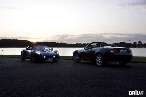 Mazda MX-5 vs. Lotus Elise