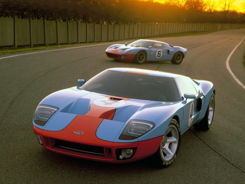 Ford GT vs. Ford GT40