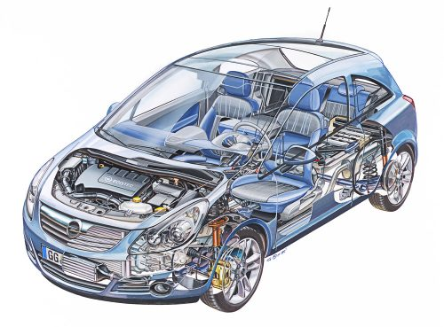 Opel Corsa 'facelift'