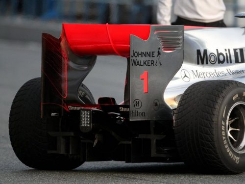 McLarens F-Duct