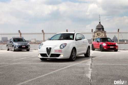 Citroën DS3 vs. Alfa Romeo Mito vs. MINI Cooper S