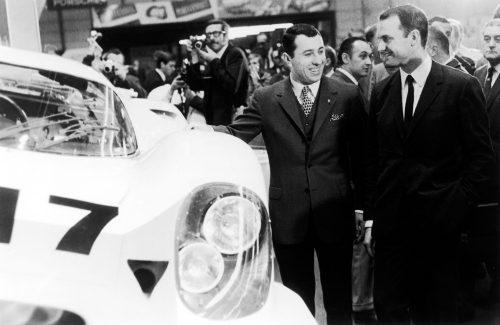 Porsche 917 met Ferdinand Piëch en Gerhard Mitter