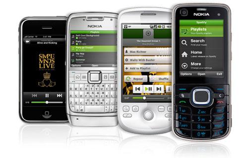 spotifyonsmartphone