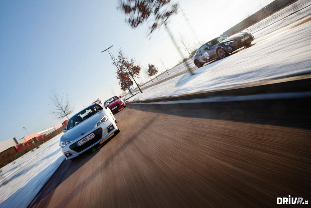 Test: Subaru BRZ vs Hyundai Genesis Coupe 2.0T Sport vs ...