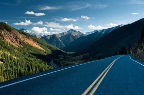 U.S. Route 550 'The Million Dollar Highway, Colorado