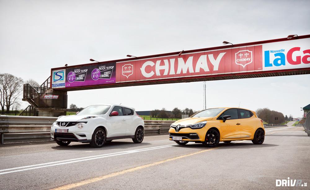 2013 Nissan Juke Nismo vs Renault Clio RS EDC 01
