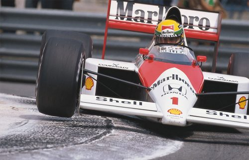 Ayrton Senna Honda Mclaren Suzuka