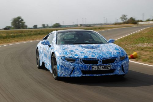 BMW i8 specificaties