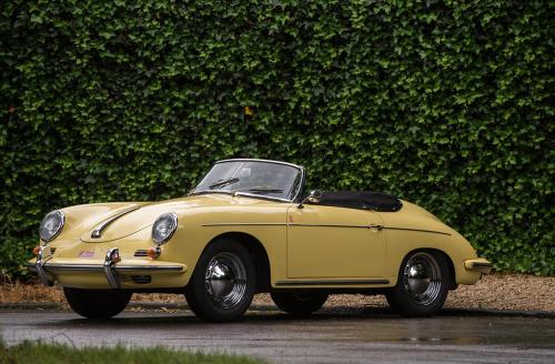 Porsche 356B 1600 'Roadster' (1961) - Coachwork Drauz
