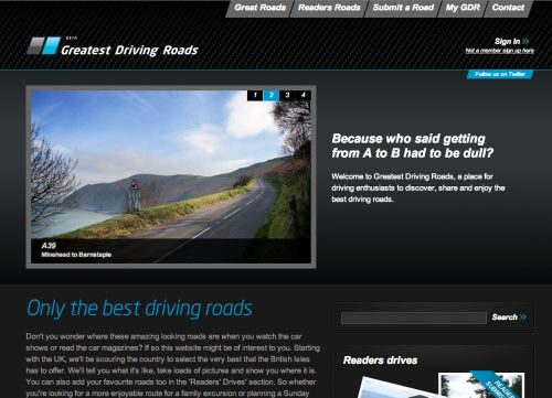greatest driving roads
