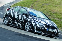 2015-Honda-Civic-Type-R-Prototype-front-three-quarter-Ring