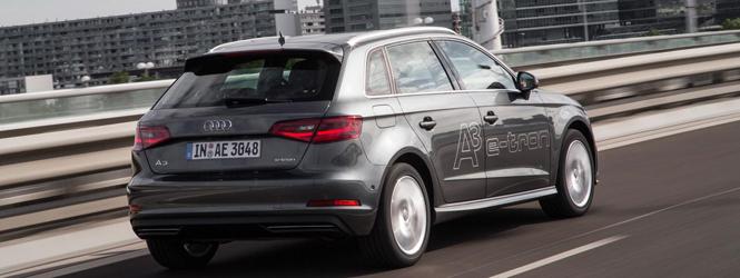 Audi A3 Sportback E-tron slider