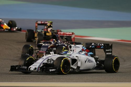 Formula One World Championship 2015, Round 4, Bahrain Grand Prix, Sakhir, Bahrain, Sunday 19 April 2015 - Felipe Massa (BRA) Williams FW37.