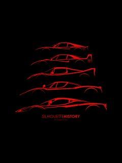 silhouette_history_ferrari_hypercarskopie