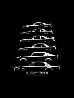 silhouette_history_nissan_gtrkopie