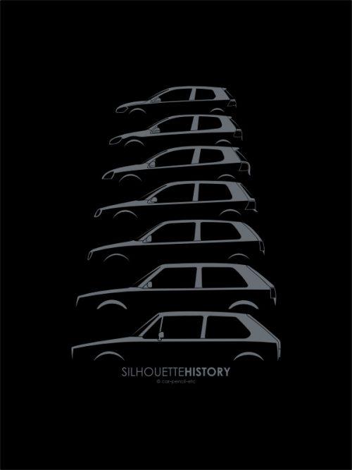 silhouette_history_vw_golfkopie