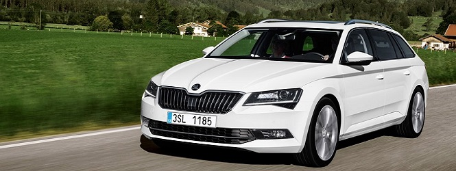 Skoda superb combi slider