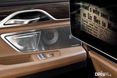 BMW 750i Interior 8