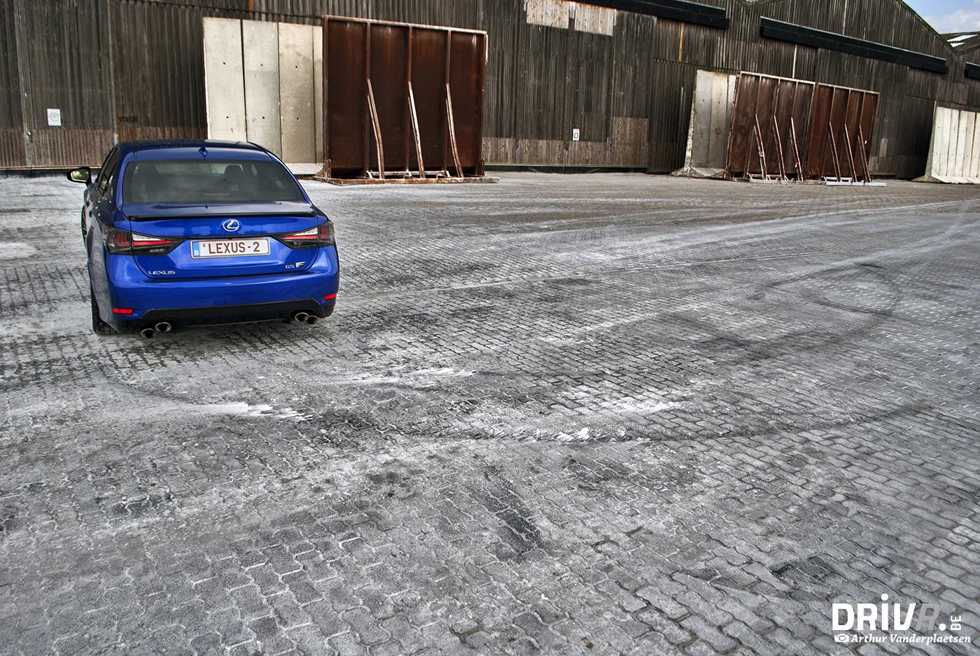 Lexus GS-F back 2
