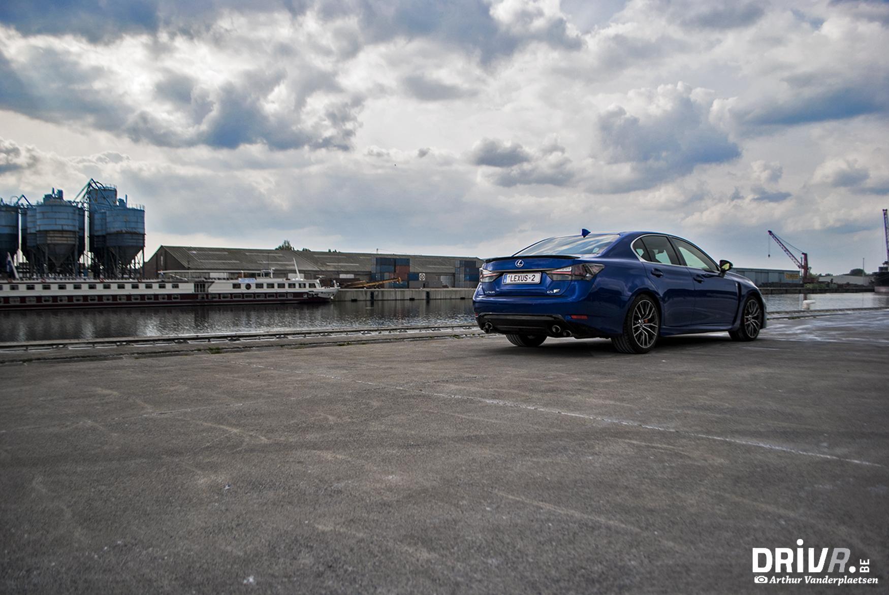 Lexus GS-F back1