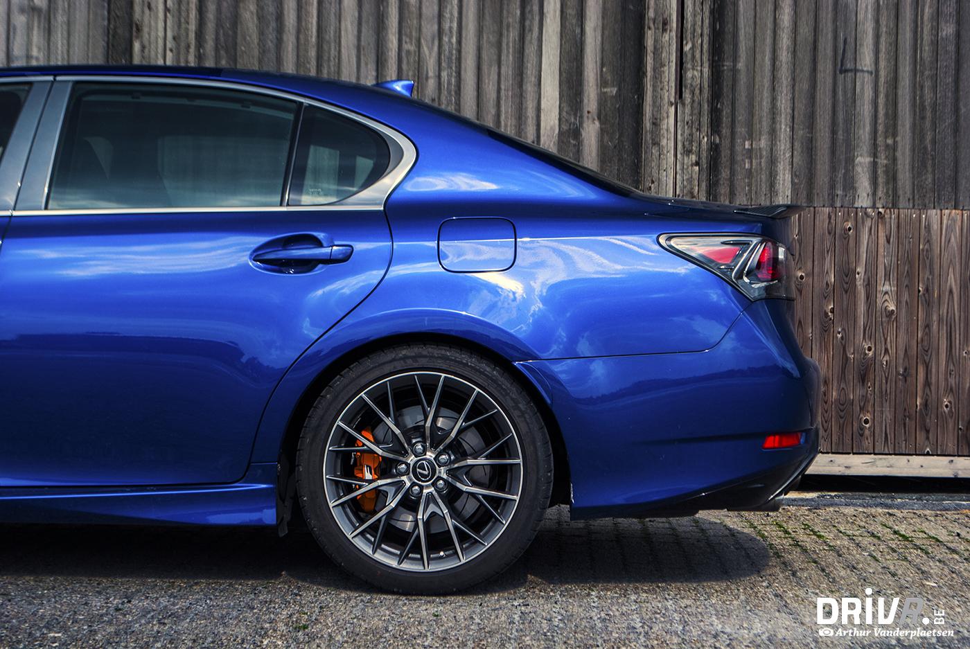 Lexus GS-F detail 3