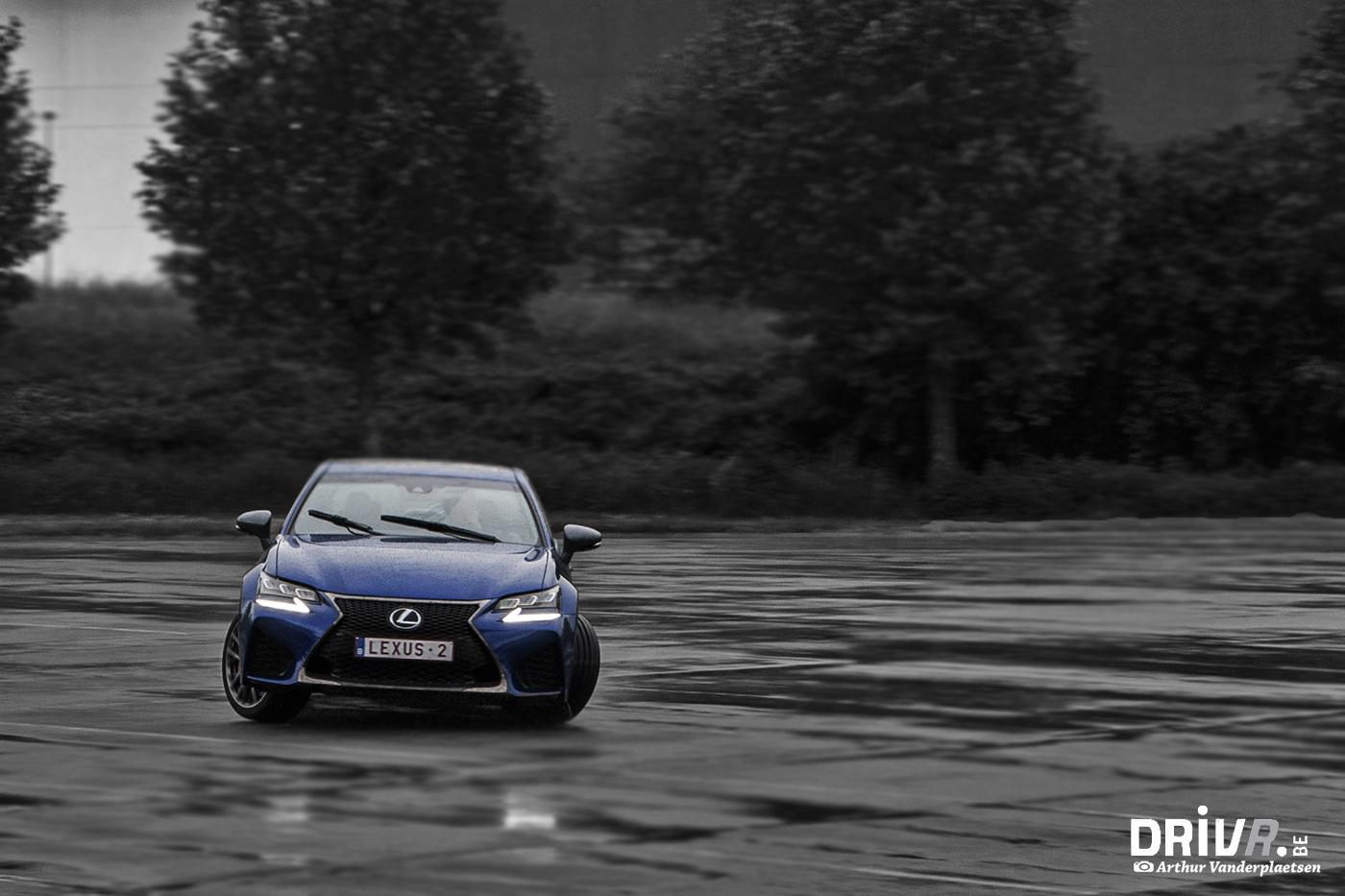 Lexus GS-F drift 1