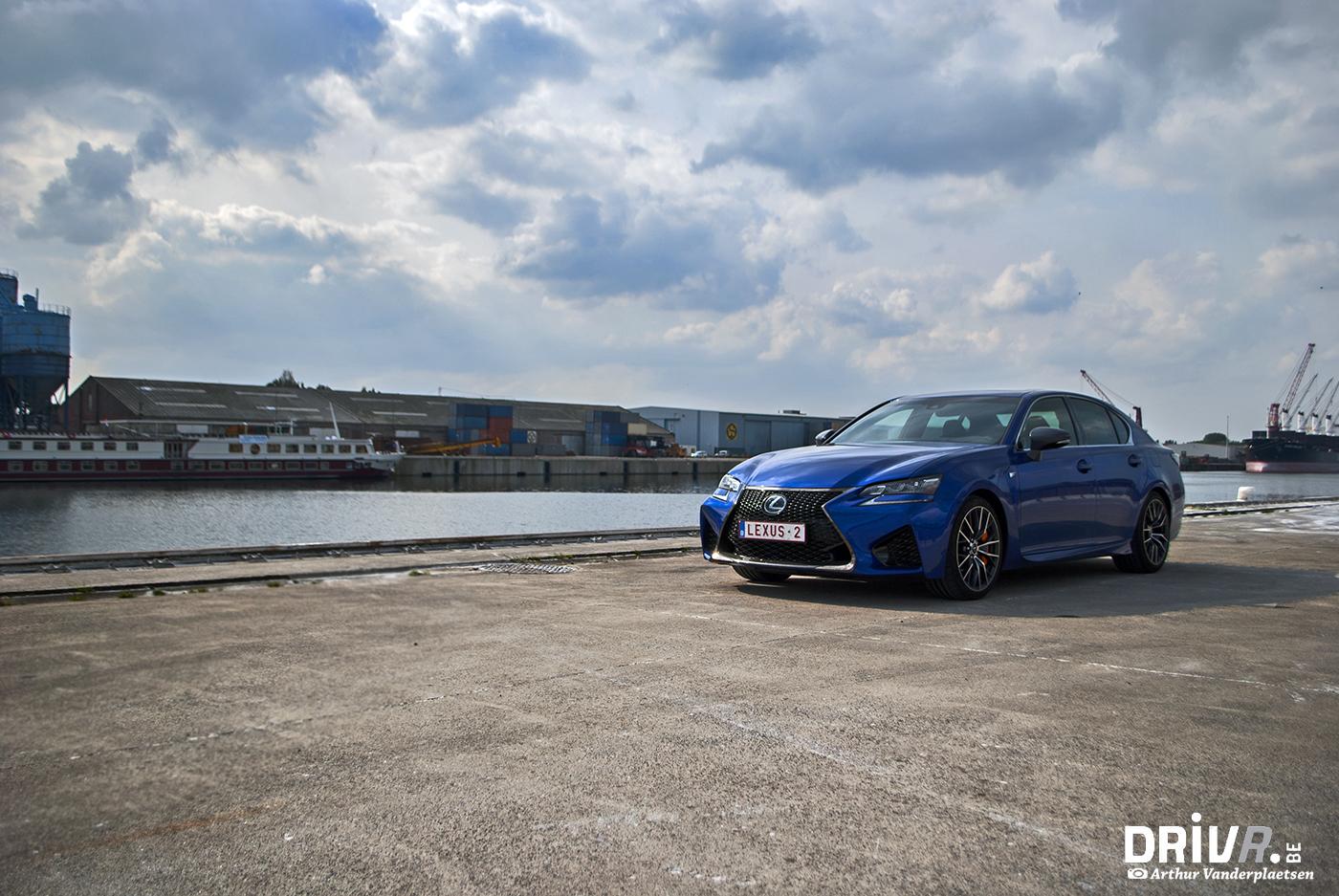 Lexus GS-F front 1