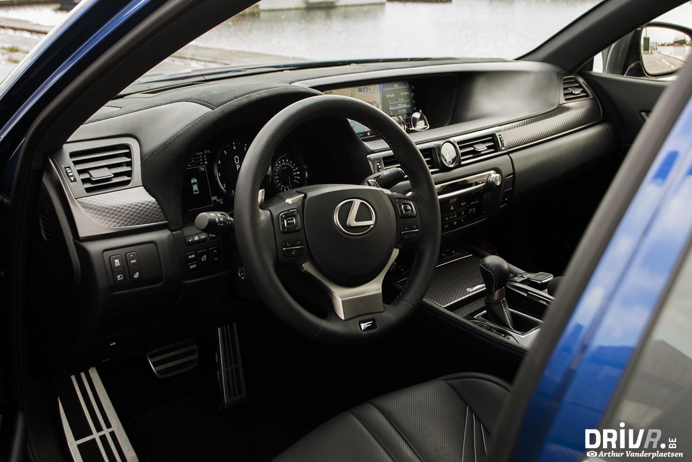 Lexus GS-F interior 1
