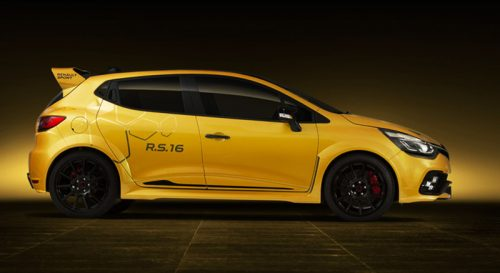 Renault clio rs 16 side