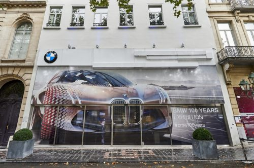 BMW 100 Years exhibition @ BMW Brand Store - 1916 - 2016