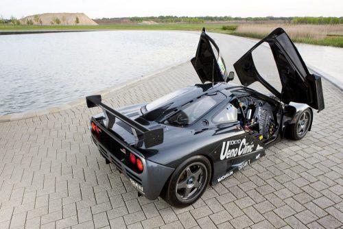 Ex Le Mans winnaar Ueno Clinic McLaren F1.