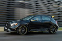 Mercedes-Benz AMG GLA 45 4MATIC Yellow Night Edition, X156, 2017