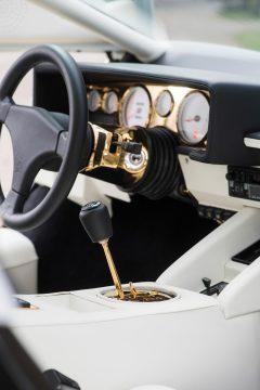 1987 Lamborghini Countach 5000 QV by Bertone dashboard (Custom)