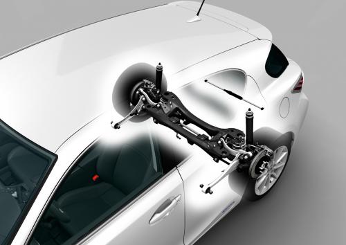 Lexus CT200h Double Wishbone