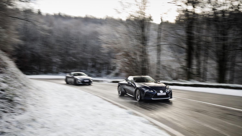 Lexus LC500 Nissan GT-R