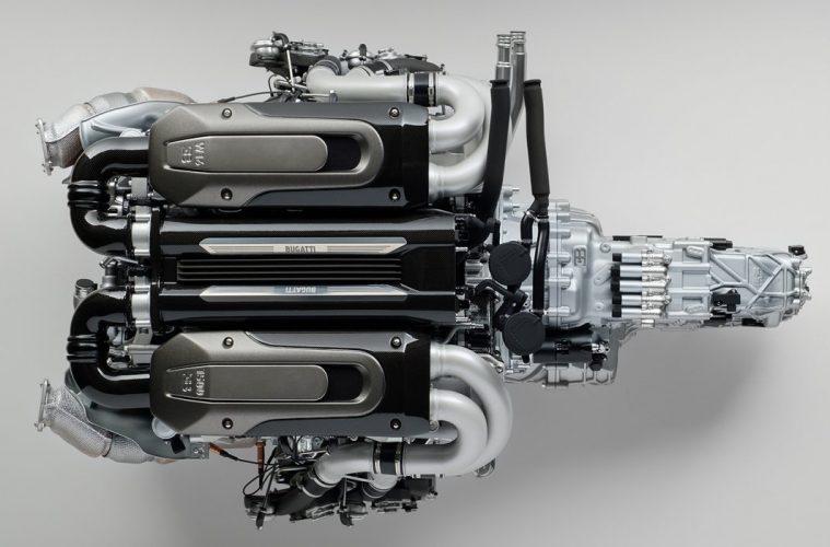 Bugatti-Chiron-Engine-and-Gearbox
