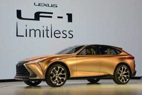 Lexus LF-1 - 2018 NAIAS Detroit