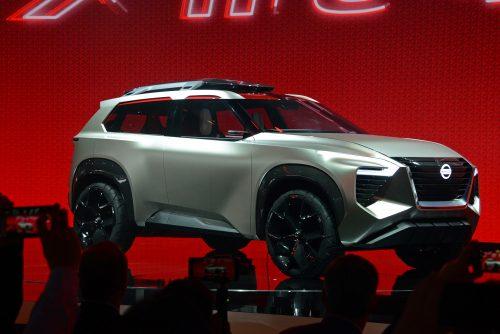Nissan XMotion Concept SUV - 2018 NAIAS - Detroit