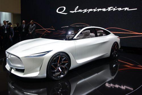 Infiniti Q Inspiration Concept - 2018 NAIAS - Detroit