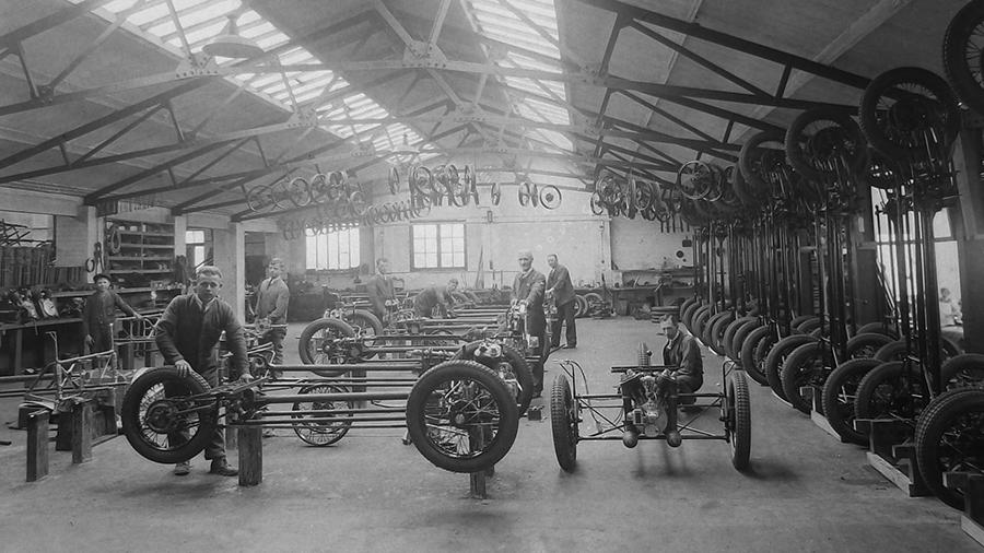 Morgan Factory