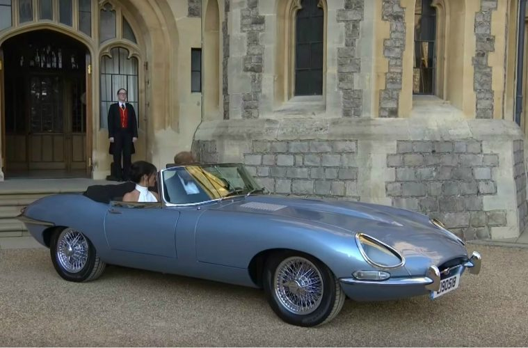 Royal Wedding Jaguar E-Type Zero