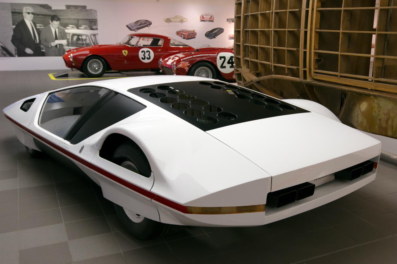 Ferrari Modulo achter