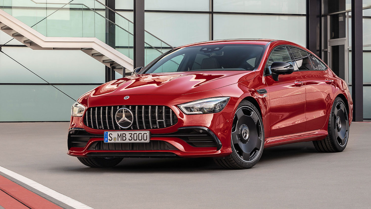 2018 mercedes amg gt 4-door coupe