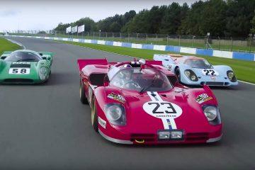 Porsche 917 vs Ferrari 512S vs Lola T70