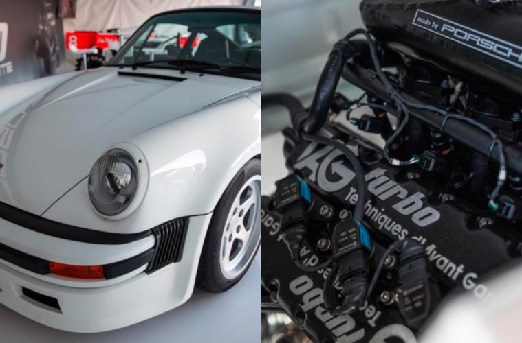 Porsche 930 tag turbo 4