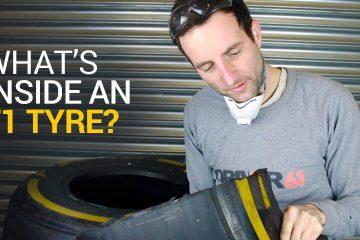 inside f1 tire