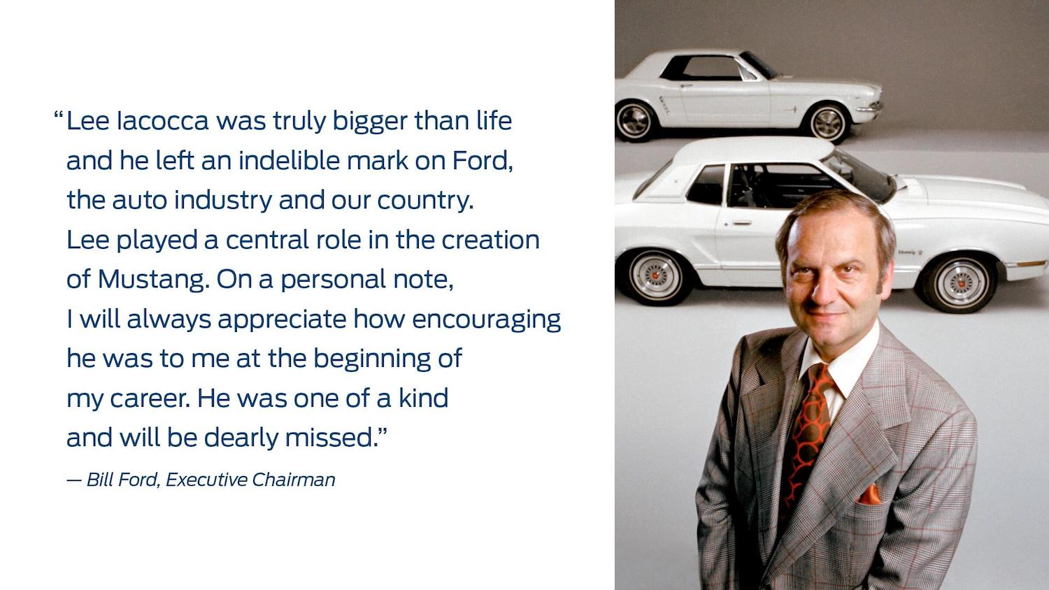 lee iacocca ford statement
