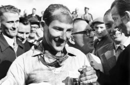 Sir Stirling Moss, Aintree, 1957