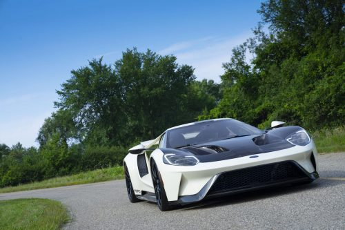 Preproduction 2022 Ford GT Heritage Edition